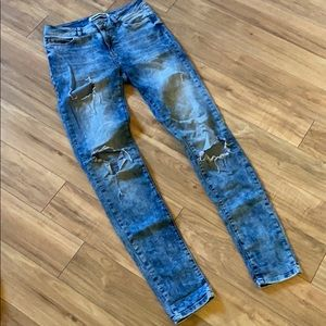 Noisy may distressed jeans